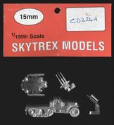 Skytrex 15mm CD224A WWII US M15A1 SPAA Half-Track & Crew